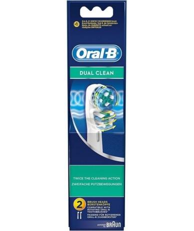 ORAL-B - DUAL CLEAN cabezales