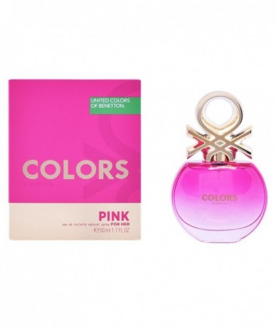 BENETTON - COLORS PINK EDT...