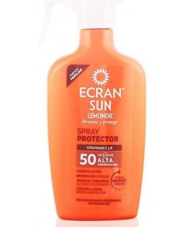 ECRAN - SUN LEMONOIL leche...