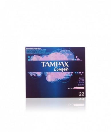 TAMPAX COMPAK tampón lites
