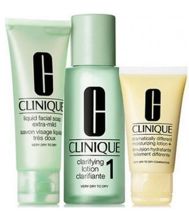CLINIQUE - 3 STEPS INTRO...