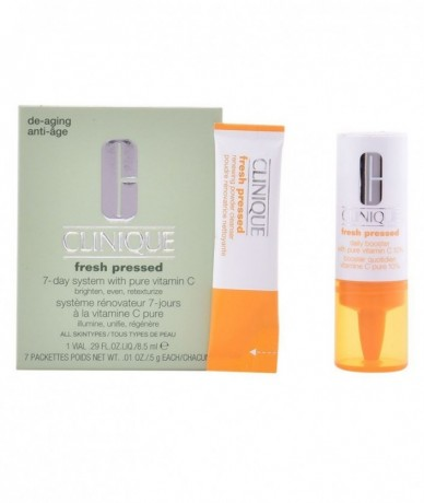 CLINIQUE - FRESH PRESSED LOTE